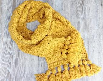 Crochet pattern Scarf Juliette