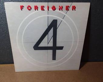Foreigner 4 Vintage LP Rock Album 1981 Atlantic Records Juke Box Hero Mick Jones