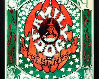 The Grateful Dead 1966 Concert Poster Highest Quality Framing