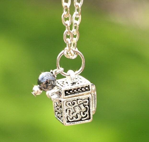 Fertility Necklace Prayer Necklace Wish Box New Bride Gift