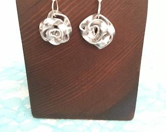 Rose Earrings (free shipping)