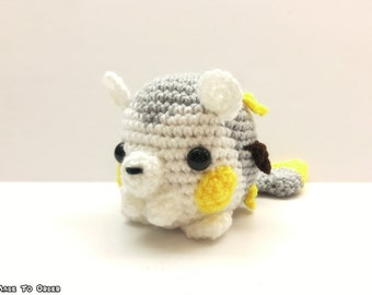 Crochet Togedemaru Inspired Chibi Pokemon