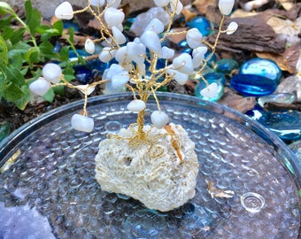 4-6in. Wire Wrapped Coral Trees