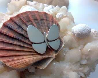 Butterfly Pendant Sterling Silver