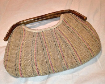 Woven Purse Handbag, Woven Bag, Bags and Purses