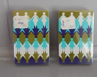 Unopened 1970's Women's Rights Deck of Playing Cards / Canasta Playing Cards