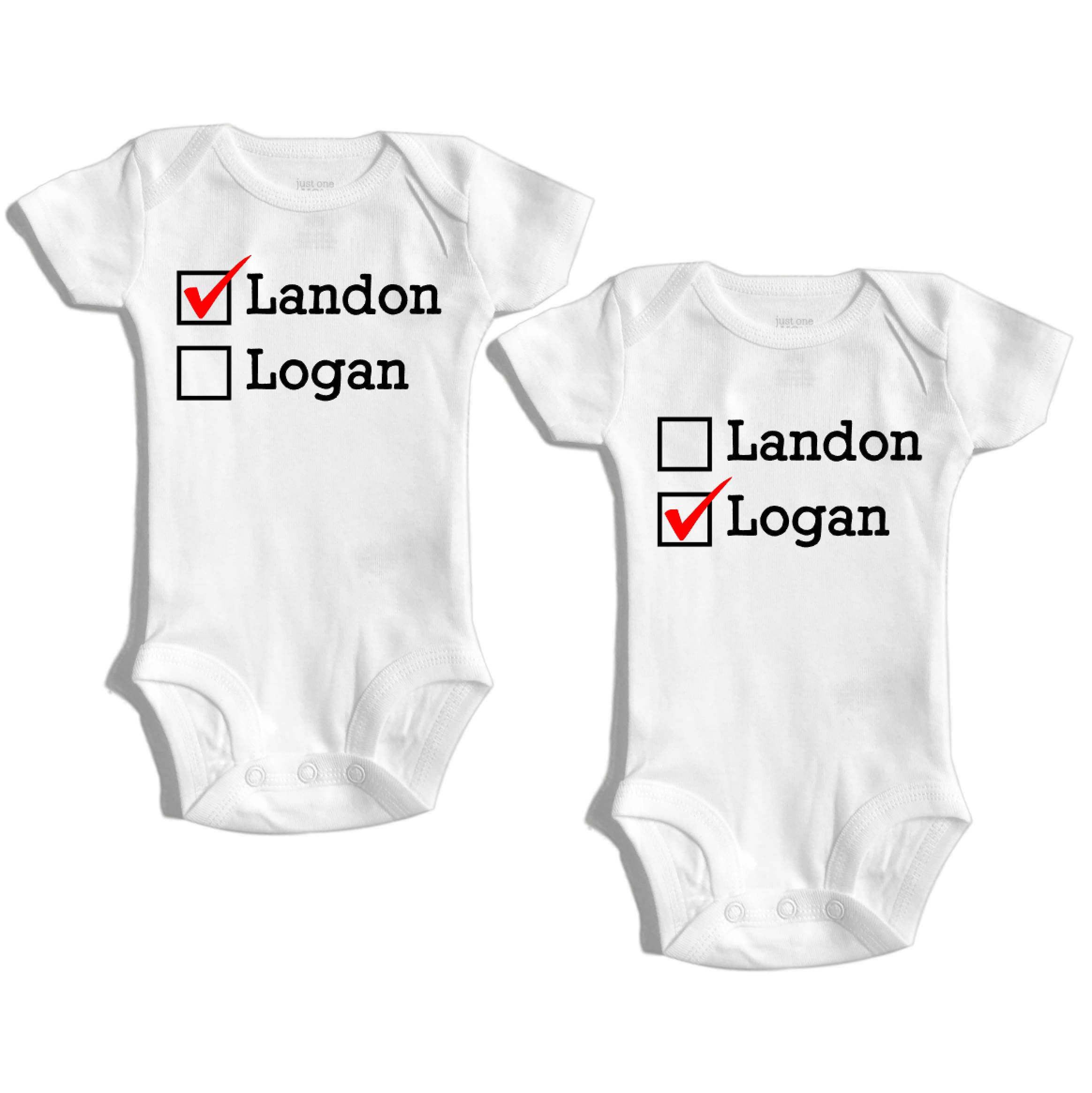 Twins baby ts Twin outfit Twin baby clothes Twin