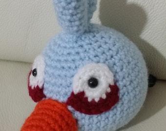Angry Birds-Blue (light blue) | Amigurumi