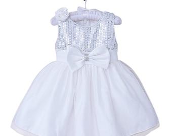 Tallulah Christening Dress - White