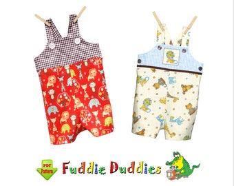 Baby Boys Romper Pattern, Jon Jon Pattern, Longall pdf sewing pattern. Boys Sewing Patterns, Boys Romper Patterns, Baby Romper Pattern Tyler