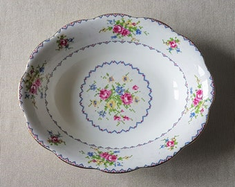 Royal Albert Petit Point 9  Oval Vegetable Bowl bone china vintage dinnerware china replacement & China replacements   Etsy