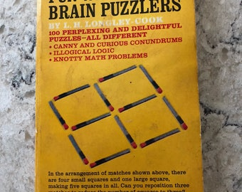 Fun With Brain Puzzlers book