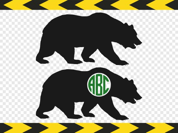 Bear svg silhouette clipart diy griz grizzly bear monogram decal bear svg silhouette clipart diy griz grizzly bear monogram decal sticker shirt cut files dxf pdf png from svgpngfiles on etsy studio publicscrutiny Gallery