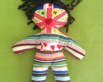 Art doll #14 - Free delivery to the UK