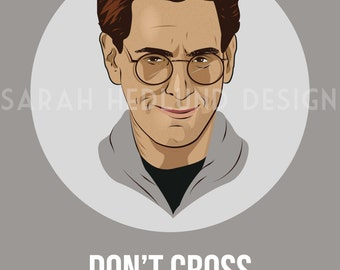 Ghostbusters Poster - Egon - Don't Cross The Streams