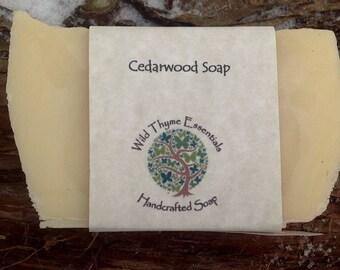 Cedar Wood Tallow Soap Palm Oil Free