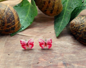 Little Butterfly, Butterfly Earrings, Butterfly, Butterfly Jewelry, Gifts for her, Insect Jewelry, Colourfull Butterflies, Plastic Jewelry,