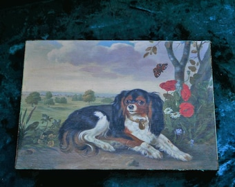 Cavalier-King-Charles-Spaniel-Plaque/Wood Sign/Dog Wall Art