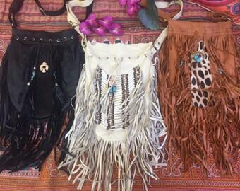 Wholesale lot large size fringe bags  x 3