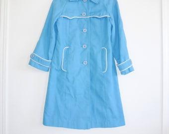 Vintage Blue Girl's Jacket
