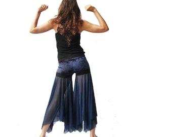 Blue Ocean Mermaid - Belly Dancer Bliss Pants