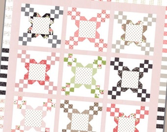 3 for PRICE of 1 - Bloomington, Candy Box and Tea Party patterns ~ Lella Boutique ~ Paper Quilt Pattern