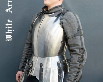 Steel cuirass SCA  LARP medieval armor body armor medieval cuirass fantasy cuirass LARP armor sca armor warrior costume