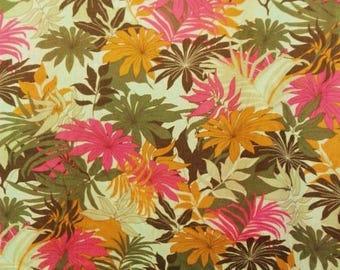 COTTON VOILE fabric has flowers 1.35 m price pr 1 m
