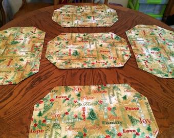 Christmas Placemat Set (6)
