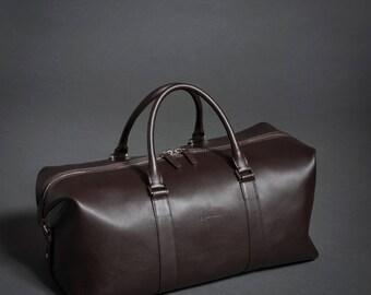Leather Weekender Bag, Leather Duffle Bag, Leather Travel Bag, Leather Overnight Bag, Leather Cabin