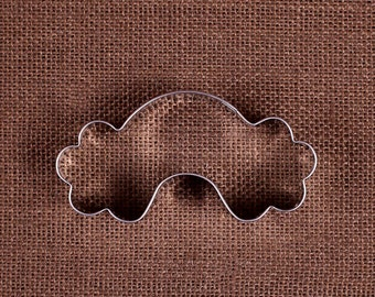 Rainbow Cookie Cutter, Rainbow with Clouds Cookie Cutter, Birthday Cookie Cutter, Metal Cookie Cutters, Sugar Cookie Cutters, Biscuit Cutter