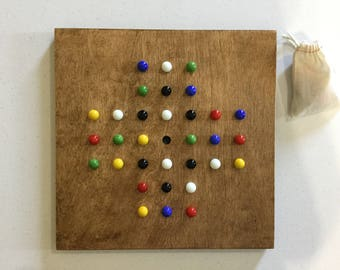 Solitaire, Game Board, Glass Marbles, Board Game, Marble Game, Marbles, Game Boards, Wooden