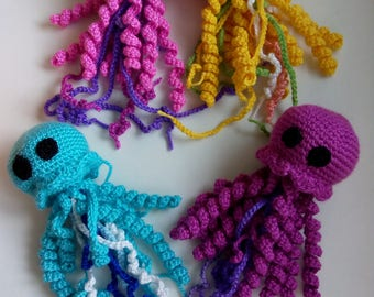 Crochet Happy Jellyfish Amigurumi