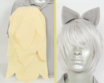 Derpy Hooves Adjustable Ears and/or Tail - buy as a set or separate! Costume sized for Kids or Adults