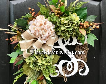 Fall Wreath, Farmhouse Wreath, Fall Wreath for Door, Fall Door Wreath, House Warming Gift, Autum Wreaths, Wreath for Fall