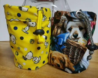 Dog training treat pouch/ colorful dog training treat pouch/ treat pouch for dog training