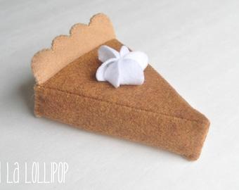 Felt Pumpkin Pie
