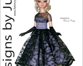 "PDF Prom Date Pattern for 16"" Ellowyne Wilde Dolls Tonner"