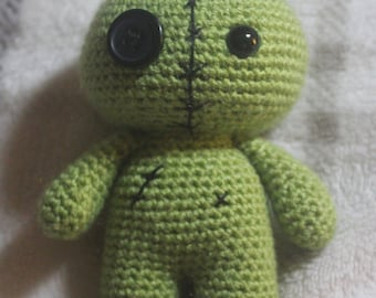 made to order crochet zombie doll
