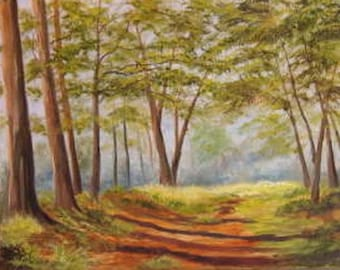 Springtime Forrest 8 x 10 limited edition to 20