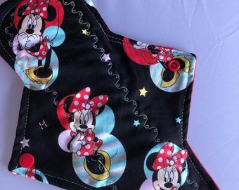 "10.25"" Minnie  Mouse  on cotton pad (Heavy)"