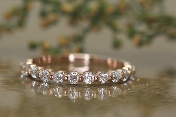 band stone ring debebians diamond pinterest rings settings images bands best on diamonds anniversary with wedding