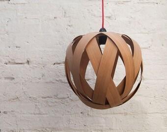 Rosebud Medium Lampshade (Cherry wood)