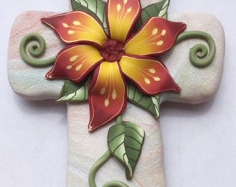 Decorative Cross Magnet 1314