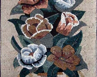 The Roses Antique Mosaic