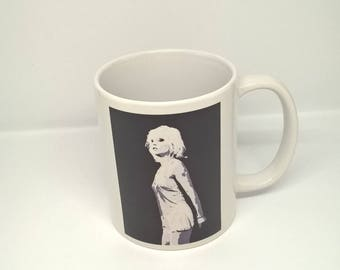 Fine Art Ceramic Debbie Harry Mug