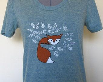 Baby Fox Shirt Women