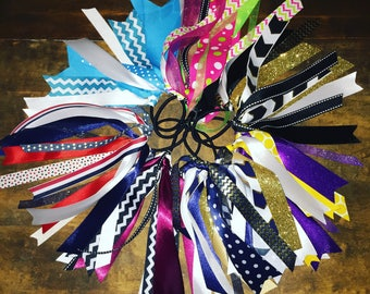 Personalized Hair Ribbons