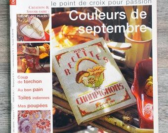 Magazine yarn needle 45 - September colors