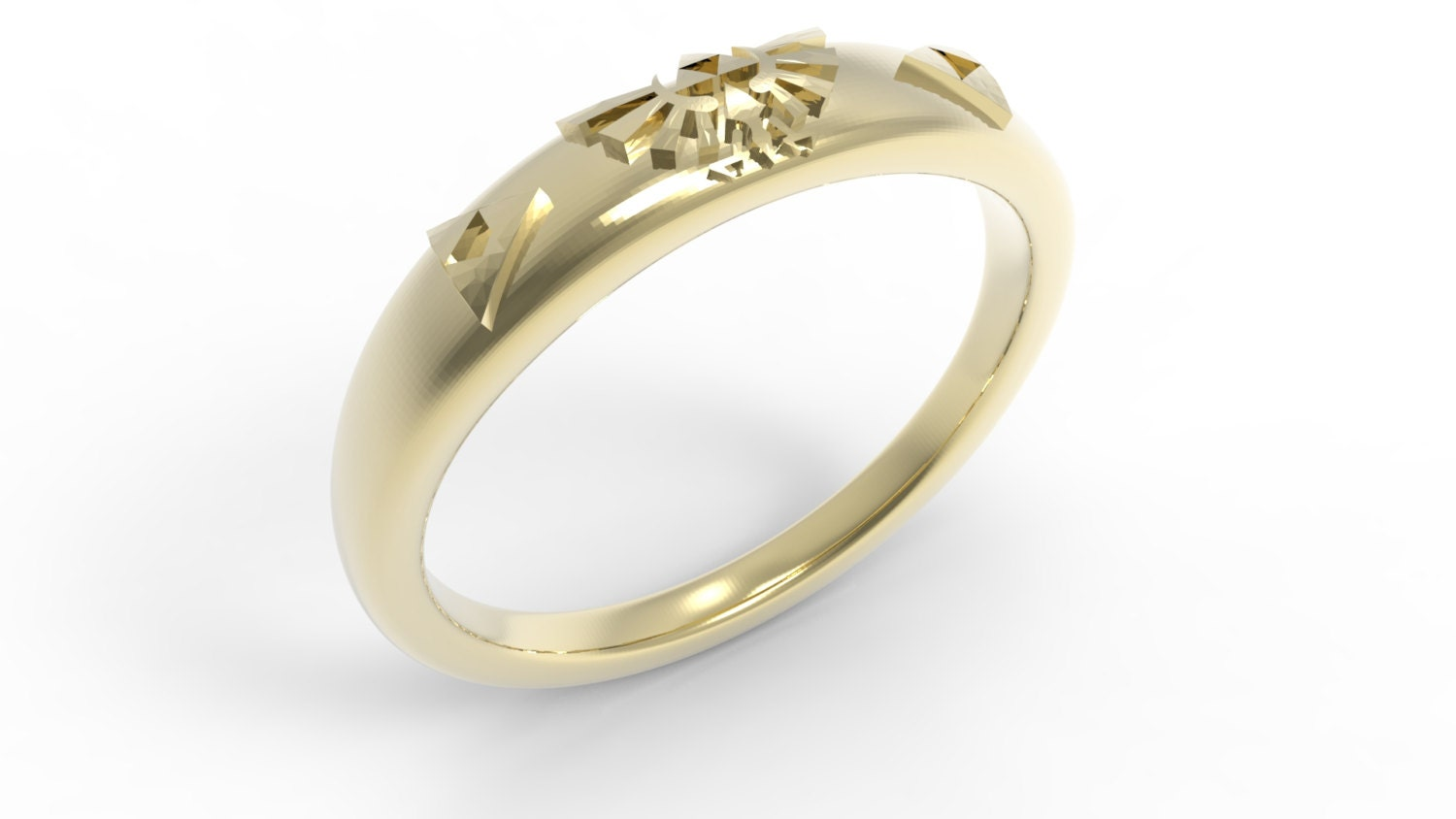 zoom - Zelda Wedding Ring